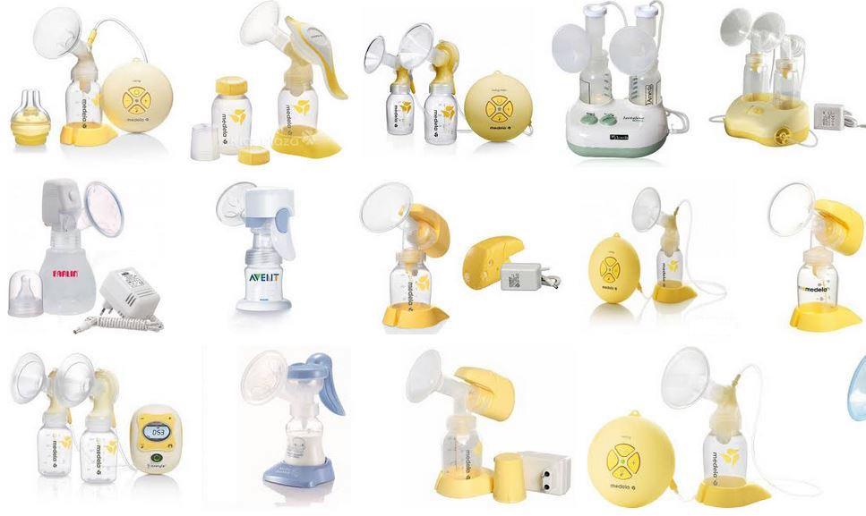 Các loại máy hút sữa