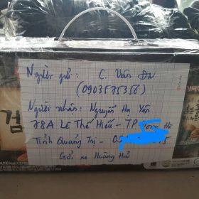 Giao hàng máy hút sữa Đà Nẵng