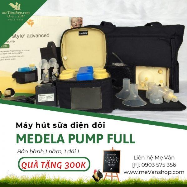 Máy hút sữa Medela Pump đầy đủ