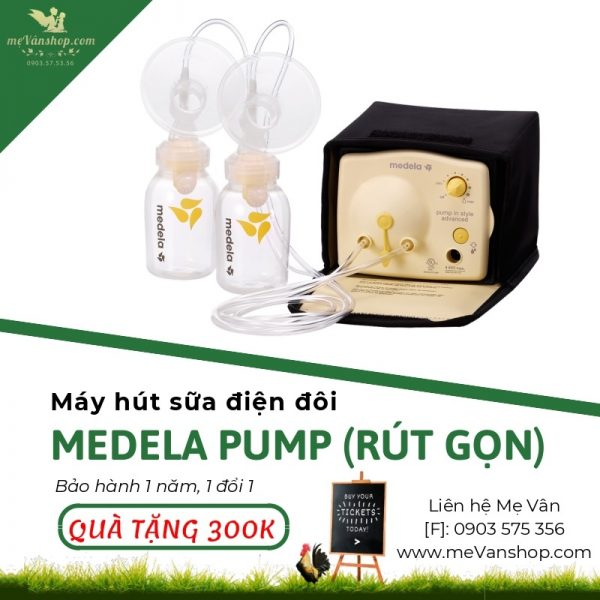 Máy hút sữa Medela Pump (rút gọn)