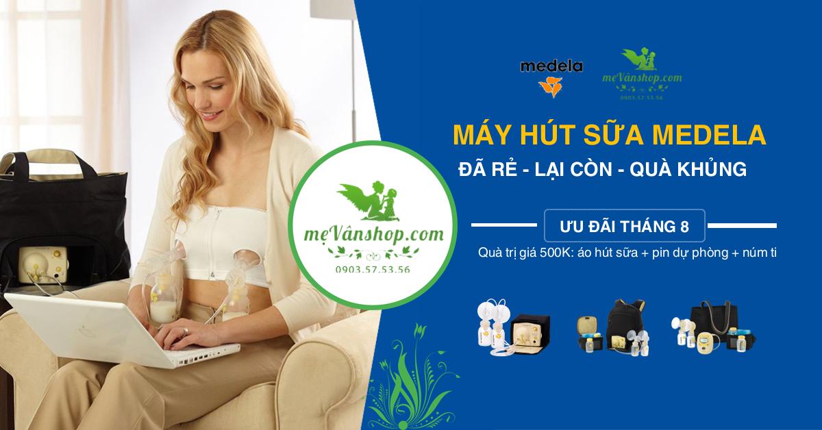 Máy hút sữa Medeal khuyến mãi tháng 8/2017